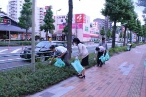ゴミ拾い1(本社)